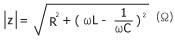 L-R-C series circuit calculation