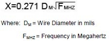 Litz Wire calculation