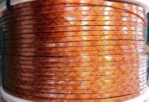 Rectangular type kapton Litz Wire