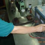 Voltage measuring for Litz Wire