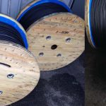 2 cores litz cable package