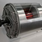 High performance motor with litz wire