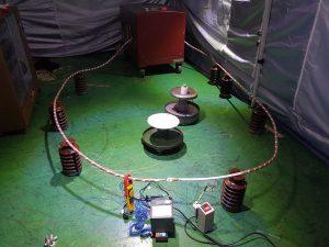 temperature rise test installation